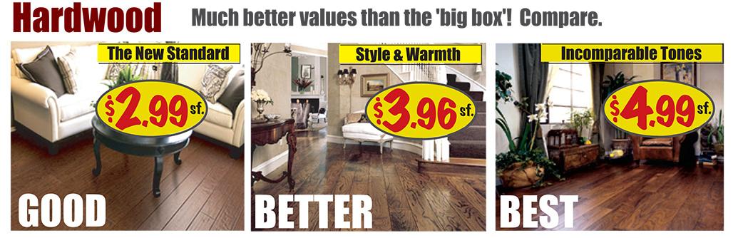 Flooring sale save big on carpet vinyl laminate for Hardwood floors york pa